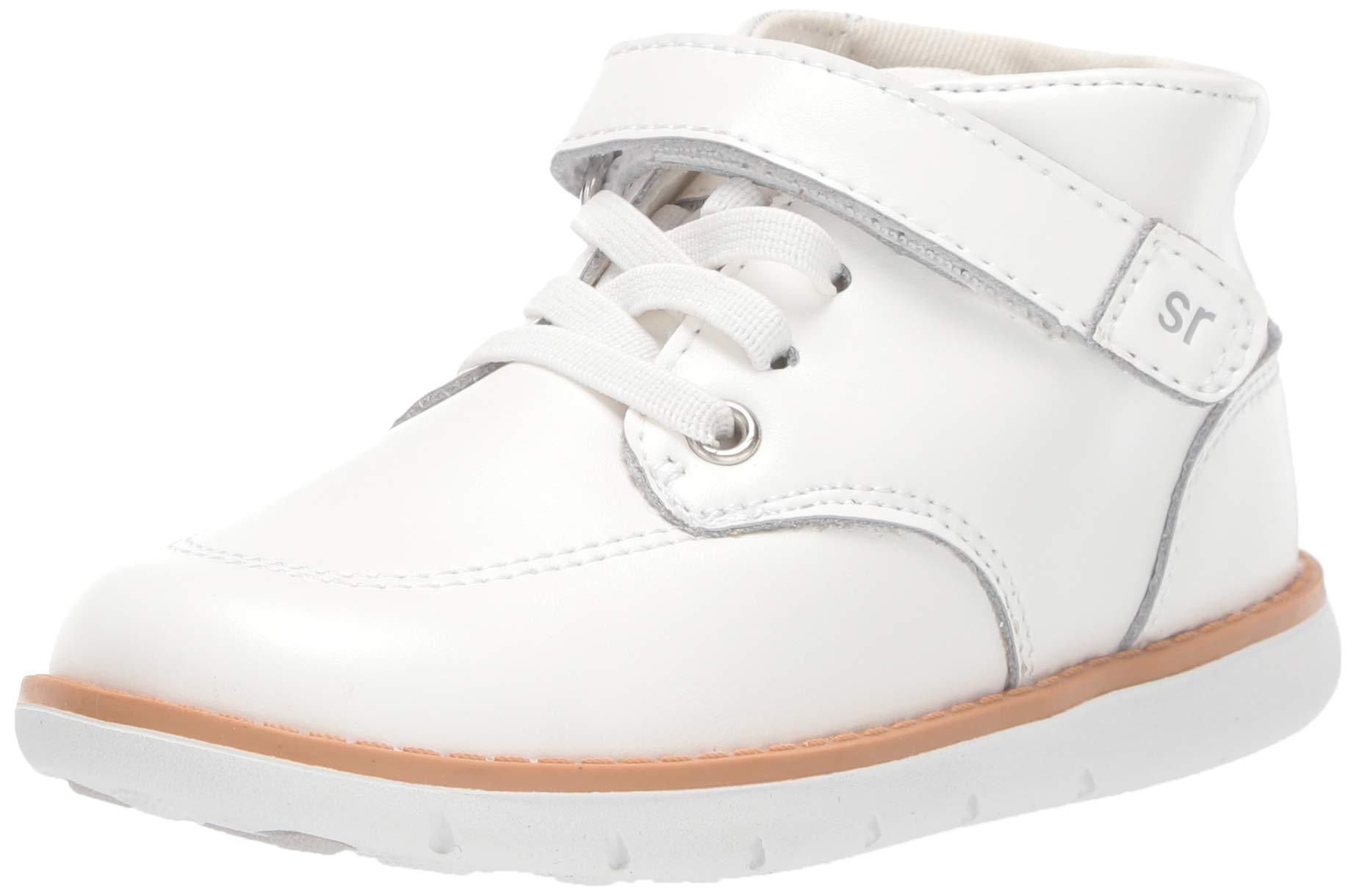 Stride Rite Boys' SRT Quinn Sneaker, White, 5 W US Toddler by Stride Rite