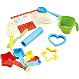 Green Toys Bake by Shape Role Play Set Toy, Assorted Colors