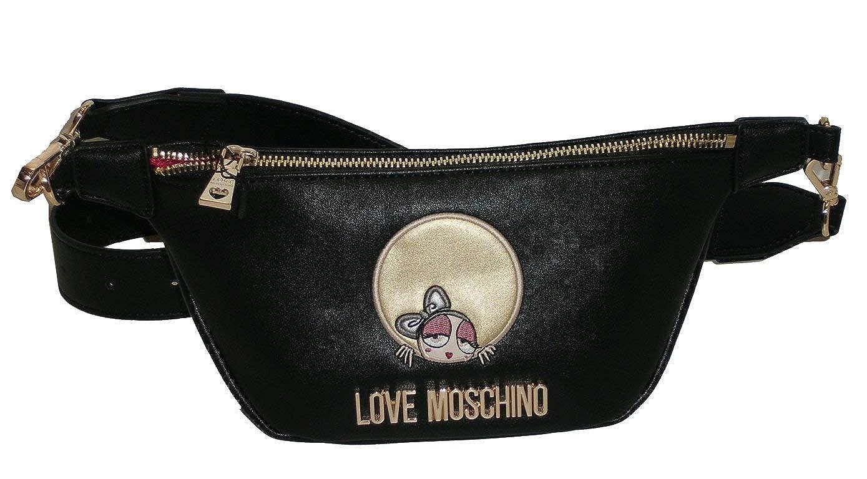 Love Moschino Borsa modello Marsupio nero: Amazon.it: Scarpe