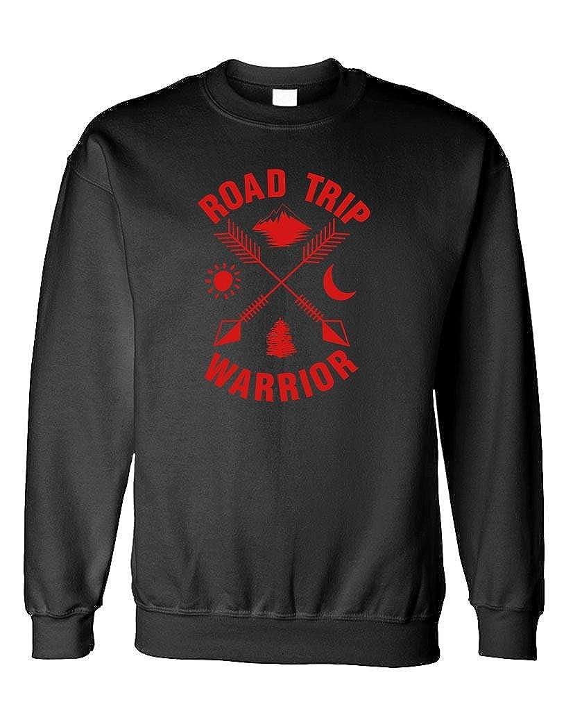 Fleece Sweatshirt Road Trip Warrior Traveling Hiking Camp
