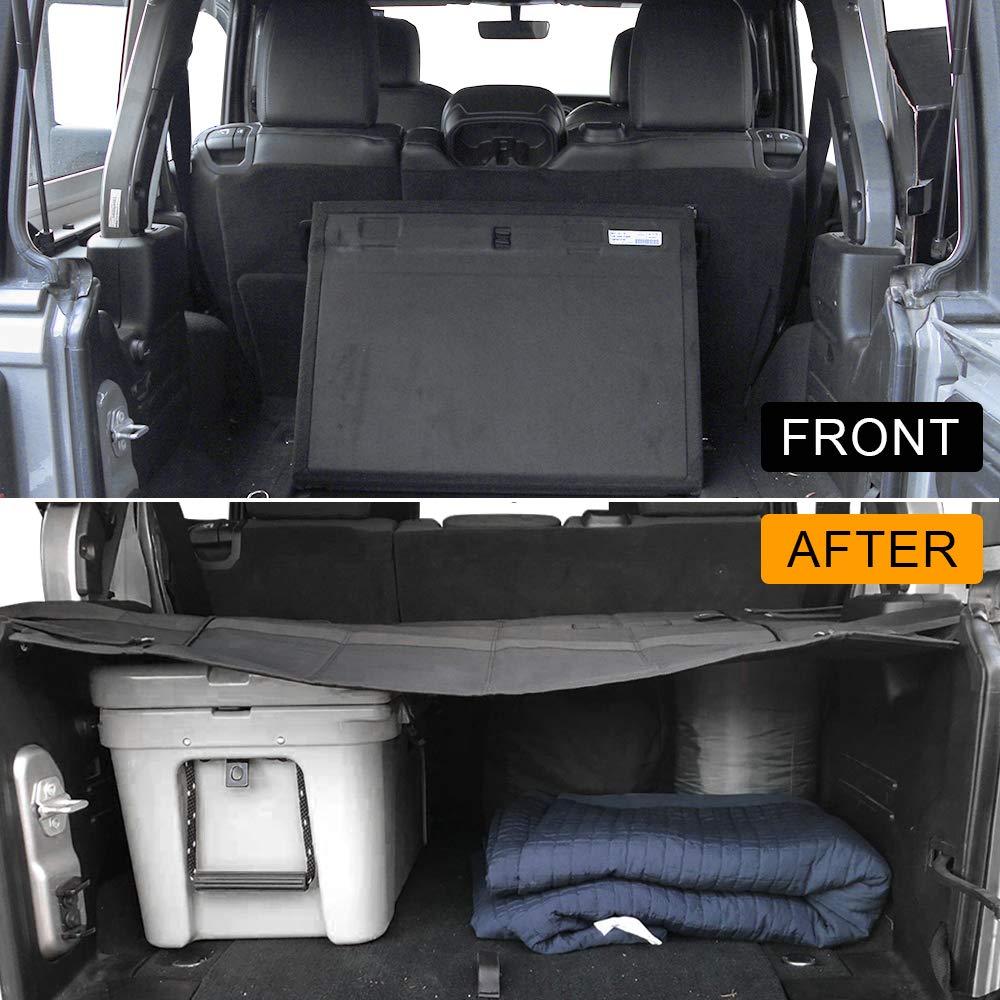 Black Foldable D-Lumina Fits for 2018 2019 2020 Jeep Wrangler JL ...
