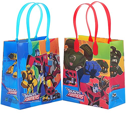 Transformers Party Favor Goodie Small Gift Bags 12 ()