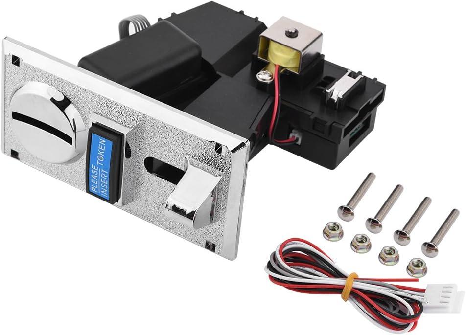 Delaman Accesorios de Juego, 1Set Metal Robusto Durable Máquina de Juego Piezas Multi-función Multi-Moneda Smart Coin Acceptor para máquina de Juego