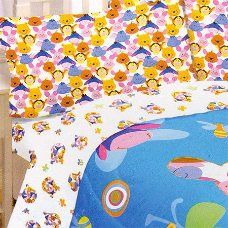 - Store51 Winnie The Pooh Bed Sheets Set - Full Size Bedding