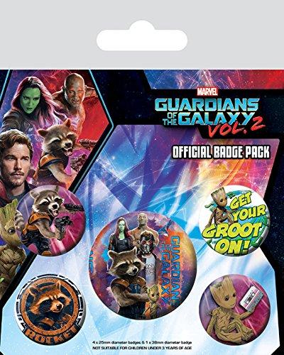 Pyramid International Pack CHAPAS Guardians of The Galaxy VOL2 ...