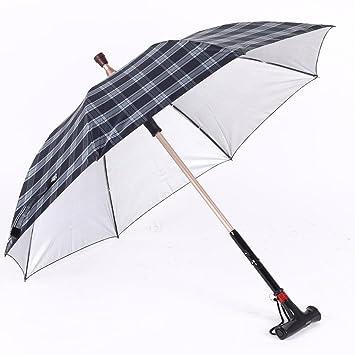 Moolo HLMMM Bastón paraguas sombrilla mango largo Aleación de aluminio paraguas anti-UV Varón paraguas