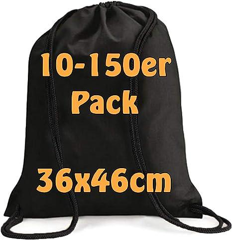 Moderno Turn 10 bolsas Mochila Bolsa de tela de algodón con cordón ...