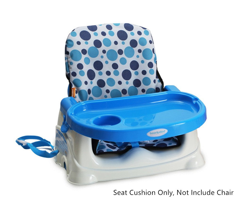 Pink Baby Kids Highchair Insert Infant Toddler Dining Chair Seat Cushion Foldable Waterproof