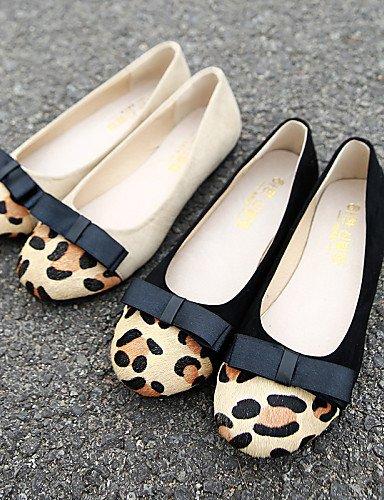 us8 blanco señaló de vestido de uk6 casual cerrado mujer zapatos Flats plano eu39 cn39 white negro Toe ante talón PDX Toe comodidad 8Uxawg8