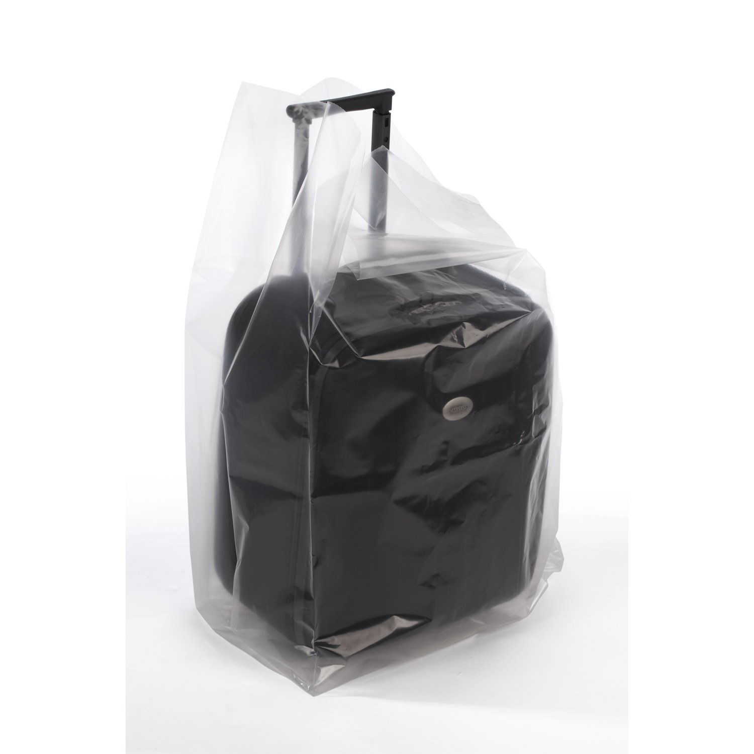 14'' x 14'' x 26'' x 3 mil Clear Eco-Manufactured Plastic Side-Gusseted Bags (Case of 250)