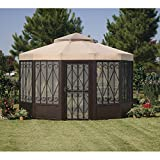 Sunjoy Replacement Canopy Set for Sunhouse Gazebo