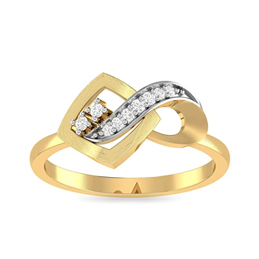 PC Jeweller The Brittnee 22KT Yellow Gold Rings Rings