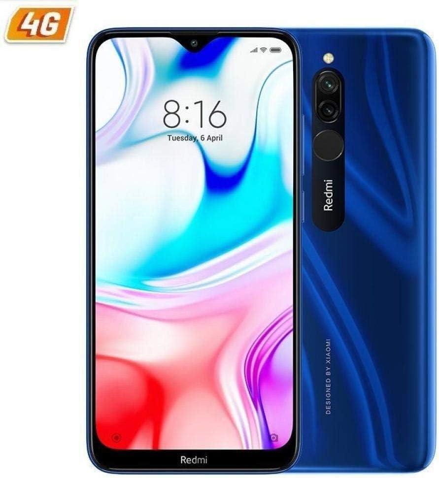 Smartphone XIAOMI REDMI 8 6,22HD+ 4GB/64GB 4G-LTE 8/12+2MPX DUALSIM A9.0 Blue: Xiaomi: Amazon.es: Electrónica