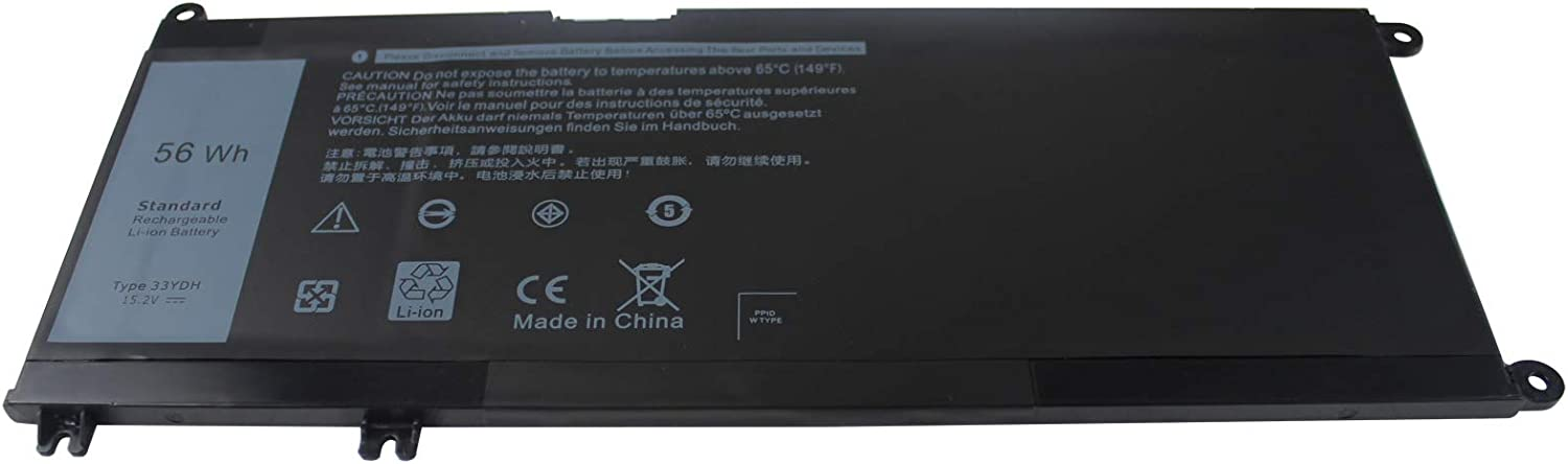 Easy&Fine 33YDH Laptop Battery for Dell Inspiron 13 15 17 7353 7000 7778 7779 7773 Series G3 15 3579 G3 17 3779 G5 15 5587 G7 15 7588 fits PVHT1 DNCWSCB6106B 56WH 4 Cell 15.2V