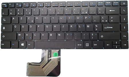 RTDpart Teclado para ordenador portátil Prestigio Smartbook ...