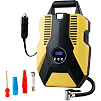 Tire Inflator Portable Air Compressor,Digital Tyre Inflator for Car Tires,Bicycles and Other Inflatables,12V DC with…