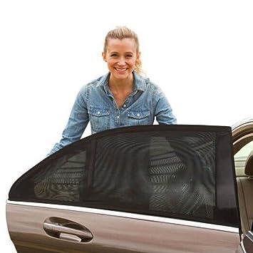 Car Sun Shade Rear Side Window Cover Baby UV Blocker Sunshine Protector Net Mesh