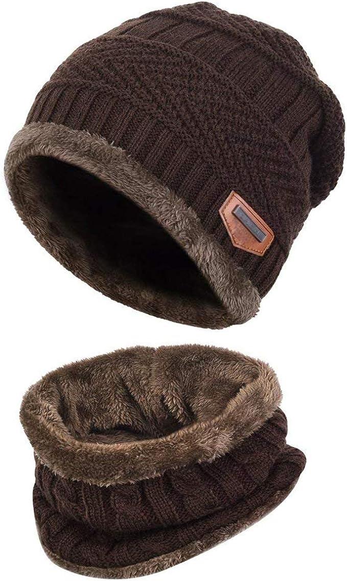 Bébé Chapeau Et écharpe Ensemble Bonnet avec écharpe écharpe cou plus chaud pour enfant W3Q4