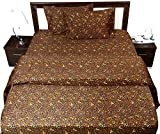 4-Piece Sheet Set for Cal-King Size 72''X84'' Leopard Animal Print 100% Egyptian Cotton 600 Thread Count (10'' Drop) Bed sheets
