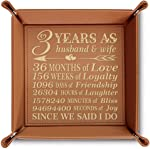 Bella Busta- 3 years as husband and wife-3 years Anniversary gift-Engraved