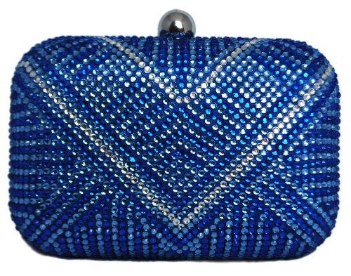 Blue Multi Color Handbag - 1