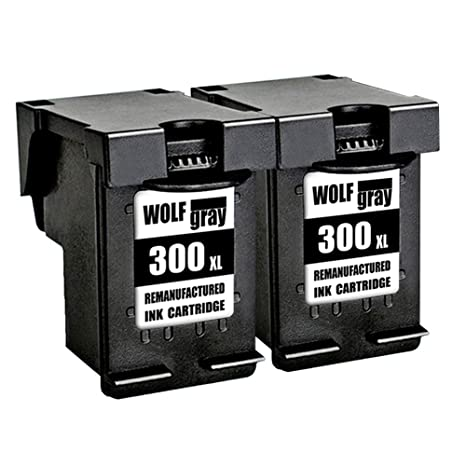 Wolfgray 300XL Remanufacturado para HP 300 XL 300 Cartuchos de ...