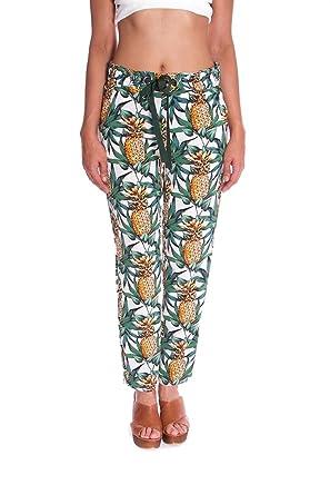 remise pour vente qualité stable grande remise Naf Naf - Pantalon - Femme Multicolore Multicolore X-Large ...