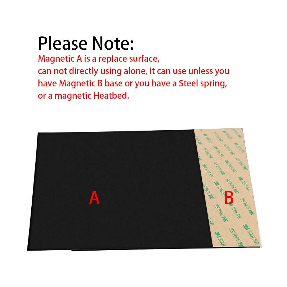 FYSETC - Placa magnética para impresora 3D (200 x 200 mm): Amazon ...