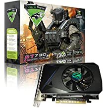 ViewMax GeForce GT 730 4GB GDDR3 128 Bit PCI Express (PCIe) DVI Video Card HDMI & HDCP Support - Product code name : AMERICAN WARRIOR EDITION