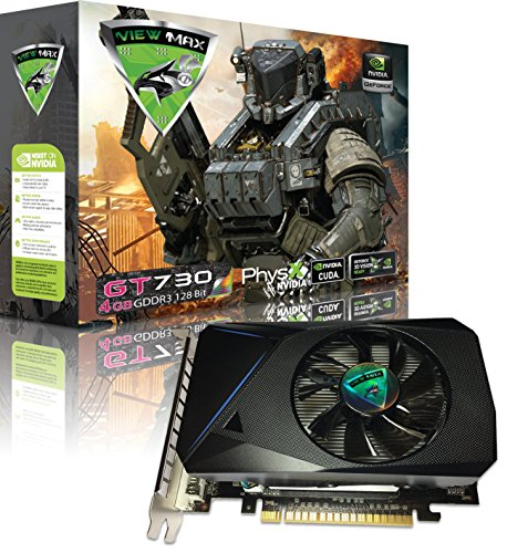 Editing Video Card (ViewMax GeForce GT 730 4GB GDDR3 128 Bit PCI Express (PCIe) DVI Video Card HDMI & HDCP Support - Product code name : AMERICAN WARRIOR EDITION)