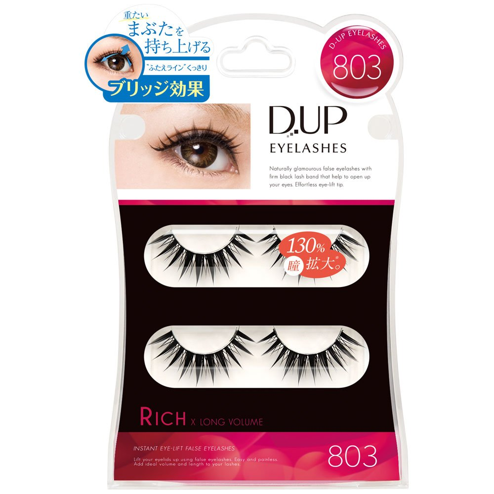 D-UP EYELASHES RICH 803