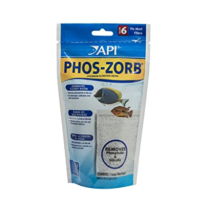 API PHOS-ZORB SIZE 6 Aquarium Canister Filter Filtration Pouch 1-Count Bag