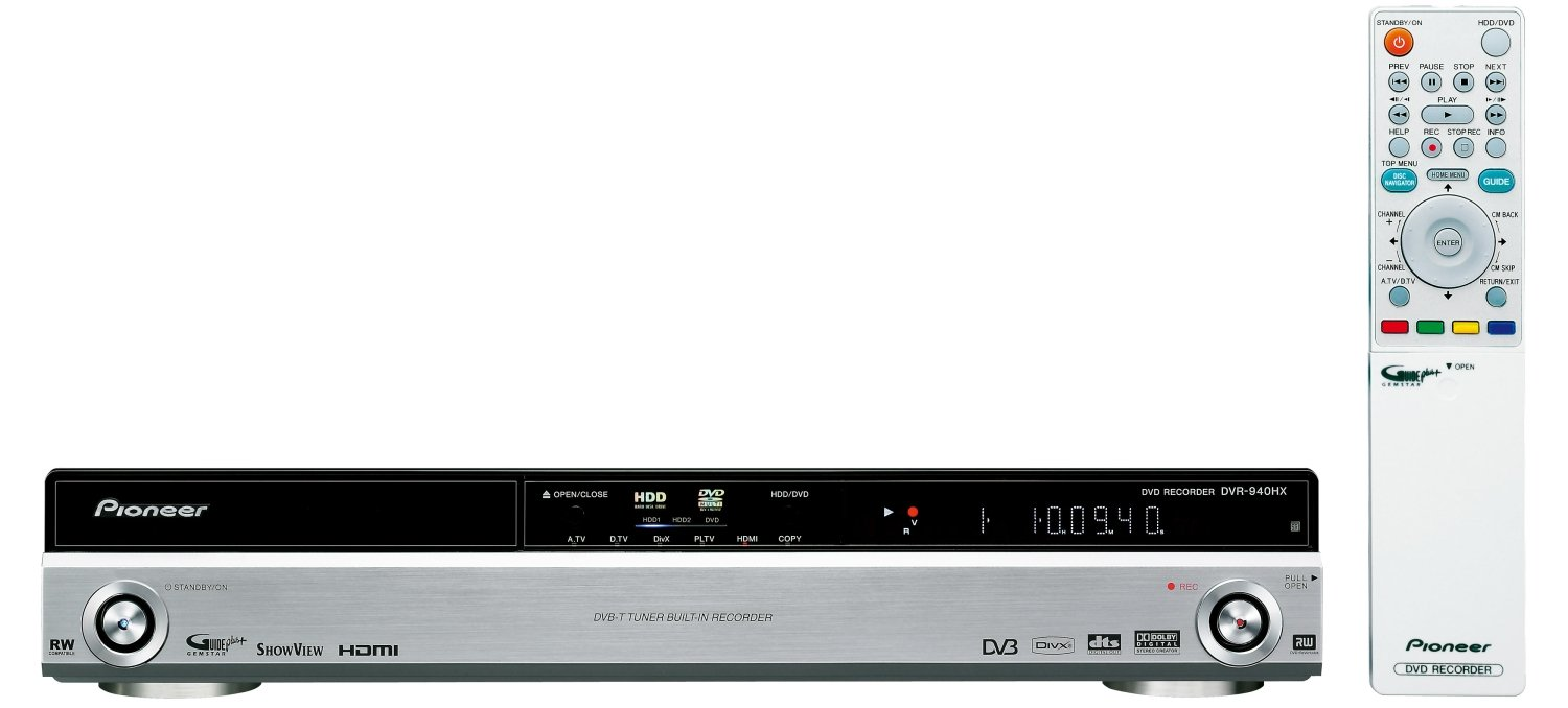 PIONEER DVR-940HX-S RECORDER DRIVERS FOR MAC DOWNLOAD