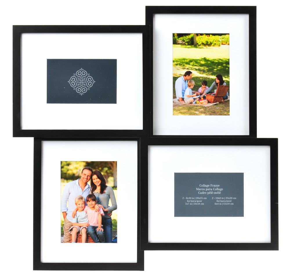 Amazon.com - Carr 4-Opening Collage Frame, 8-Inch by 10-Inch -