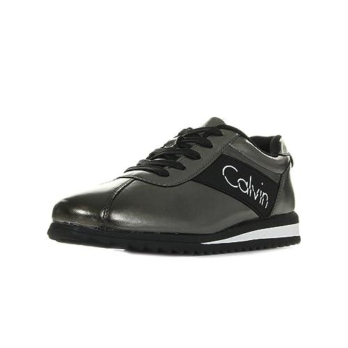 ZAPATILLAS CALVIN KLEIN - R0657 POPPY-METAL-T36: Amazon.es: Zapatos y complementos