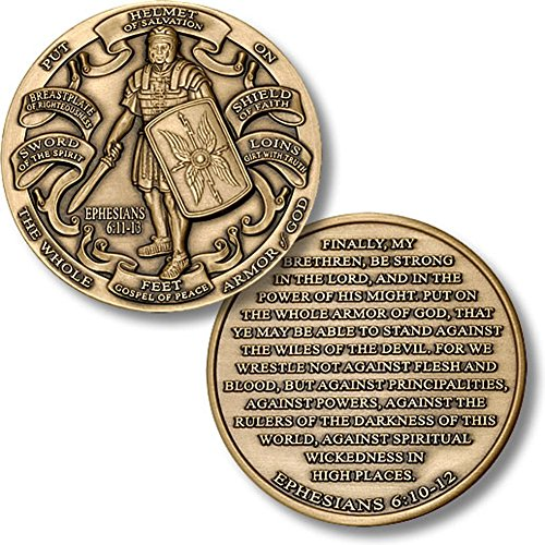 - Armor of God High Relief Challenge Coin