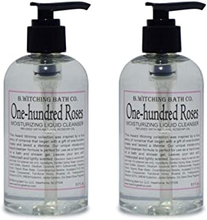 product image for B. Witching Bath Co. One-hundred Roses Moisturizing Liquid Cleanser -8 oz. - 2 PACK!