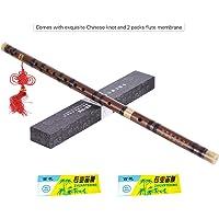 Muslady Flute Bawu Bamboo Instrument de musique /à vent Formation pratique des /étudiants d/ébutants Traditionnel /à la main Fl/ûtes Bawu en Bambou Professionnelles