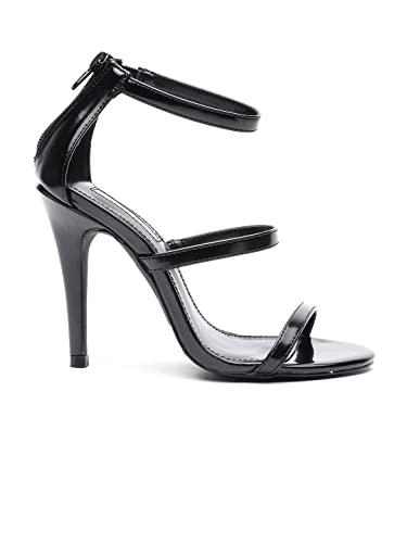 df355e6ed23 Forever 21 Women Black Heels (6.5 UK)  Buy Online at Low Prices in ...
