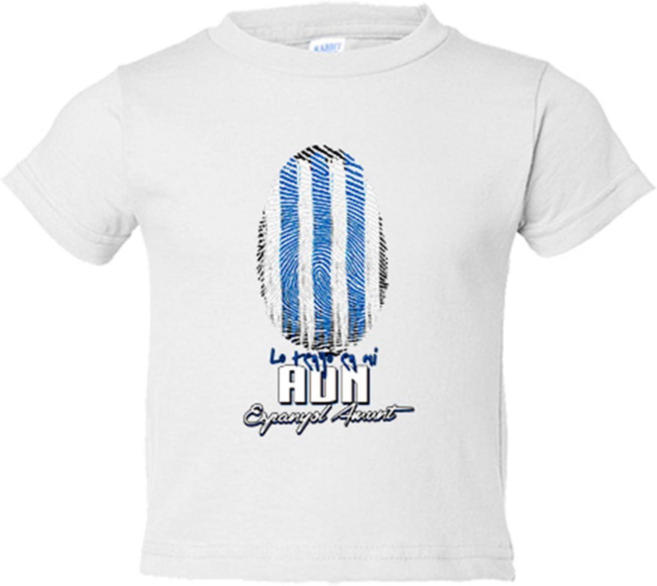 Camiseta niño lo tengo en mi ADN Espanyol fútbol - Blanco, 3-4 ...