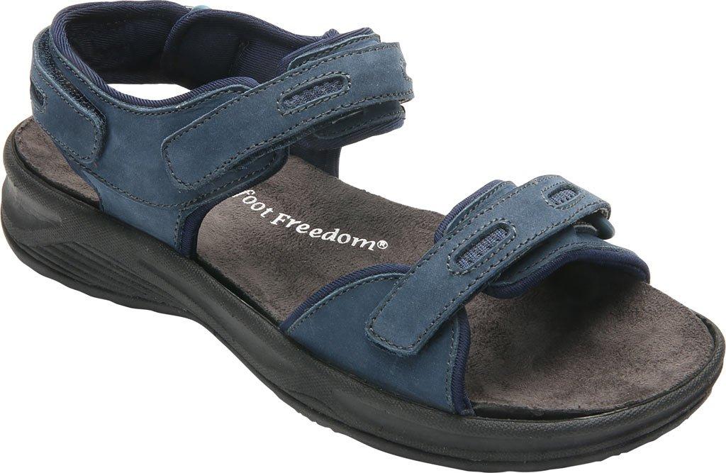 Drew Cascade Women's Sandal B01KQ2Z880 10.5 E US|Navy Nubuck