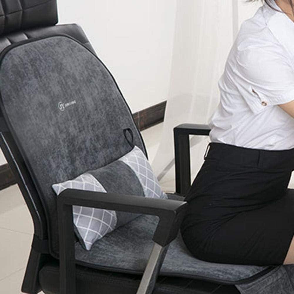 Coussin chauffant /électrique couverture chauffante pour chaise de bureau /à domicile 45 * 45cm-Prise europ/éenne