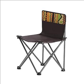 GHM Silla de Camping Silla Plegable al Aire Libre del Parque ...