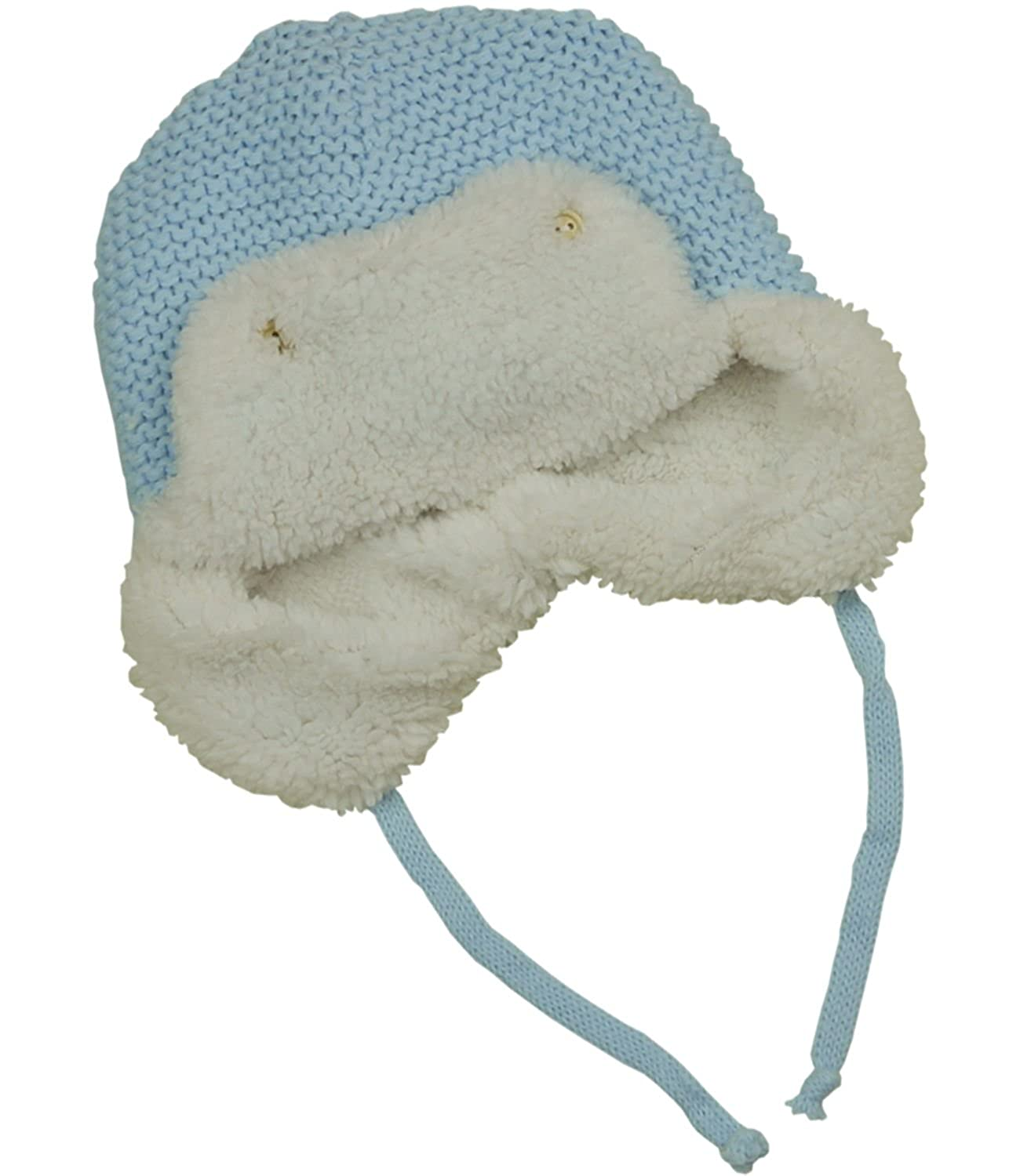 c0682c633 Amazon.com: BabyPrem Baby Hat Waffle Knit Trapper Fleece Lining ...
