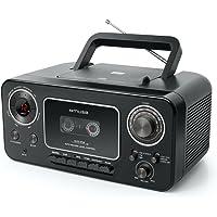 Muse M-182 RDC Analogique Noir - Systèmes stéréo Portables (Analogique, FM,MW, Lecteur, CD,CD-R,CD-RW, Répéter Tous, Répéter Un, LED)