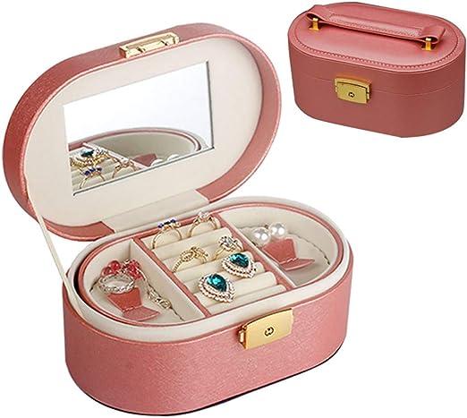 Nobuddy Caja Joyero, Caja de Joyería Viaje 2 Cajones Caja Joyero ...