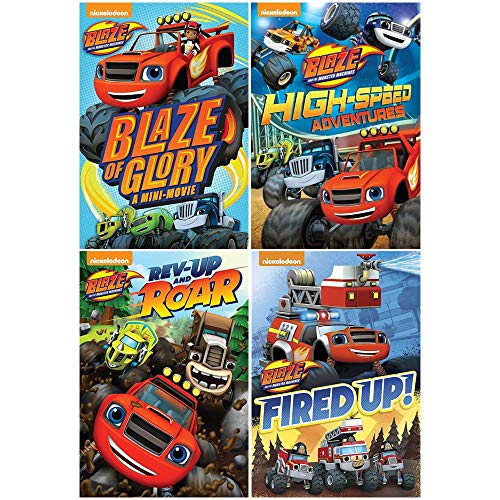 Blaze and the Monster Machines: TV Series DVD Collection - 14 Complete Episodes + Blaze of Glory Video Storybook