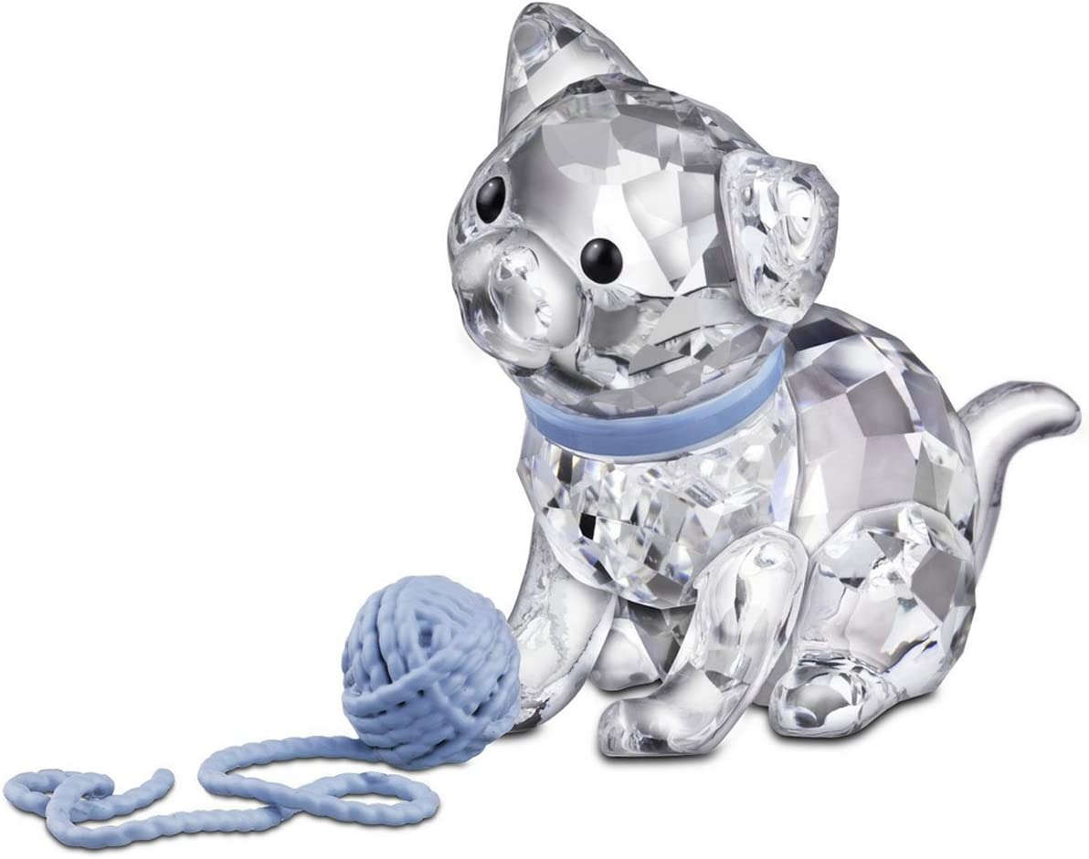 SWAROVSKI Kitten Figurine, Sitting