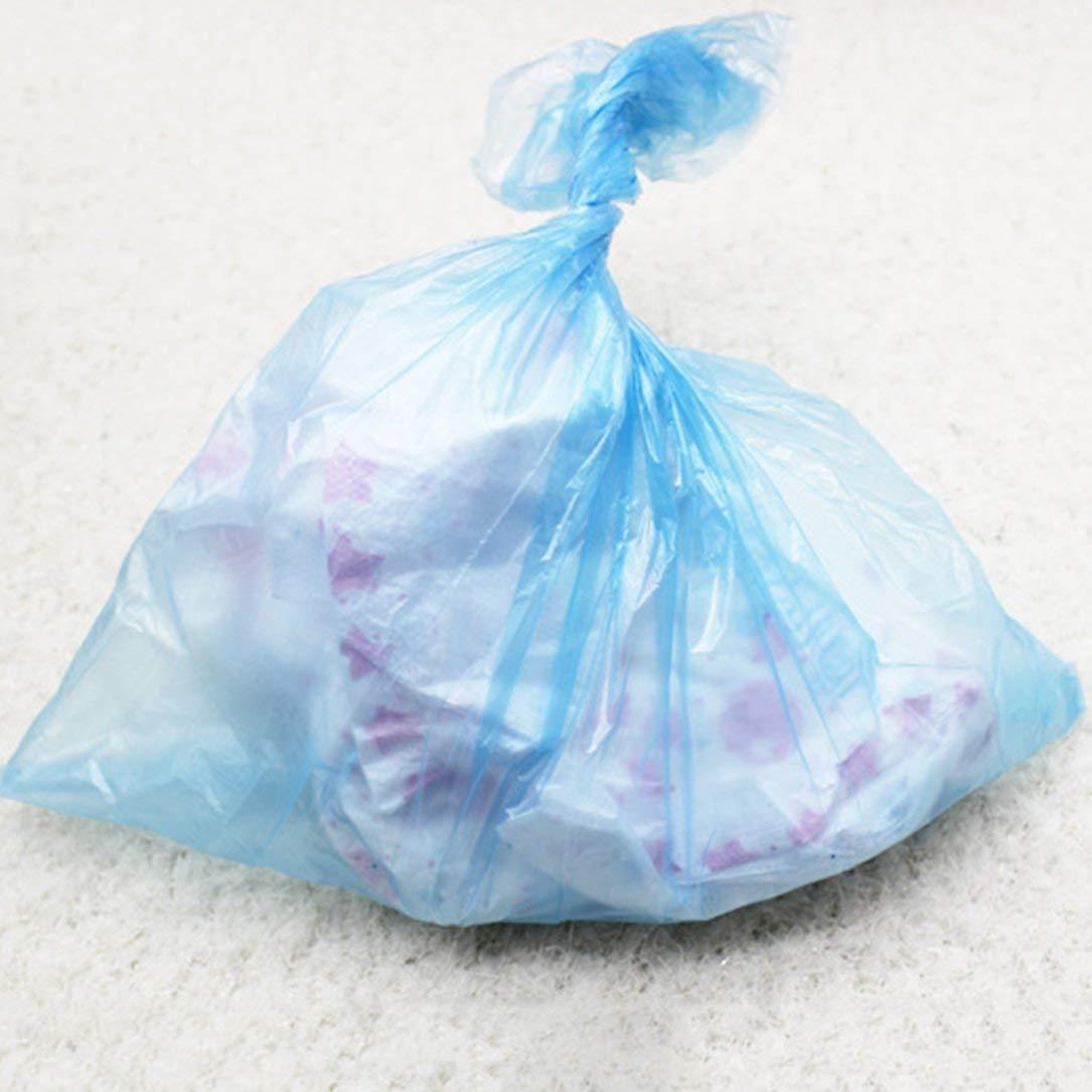 15pcs roll pannolino del bambino Borse portatili monouso domestico del bambino di immondizia spazzatura Borse Passeggino Accessorio per Mamma e bambino