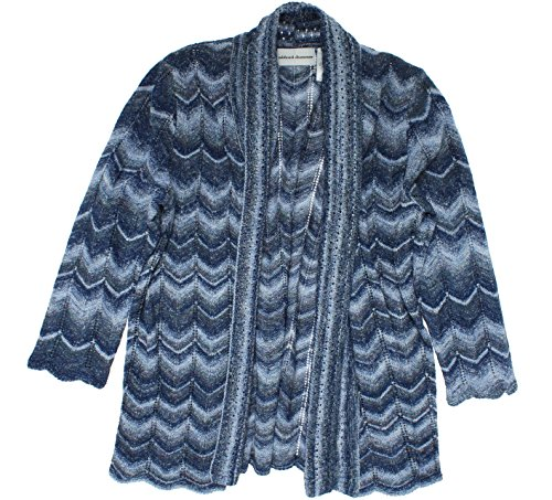Alfred-Dunner-Womens-Sierra-Madre-Space-Dye-Open-Cardigan